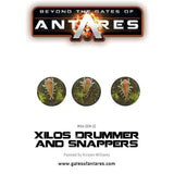 Xilos Drummer and Snappers