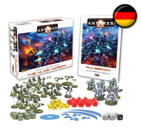 German Beyond the Gates of Antares starter set