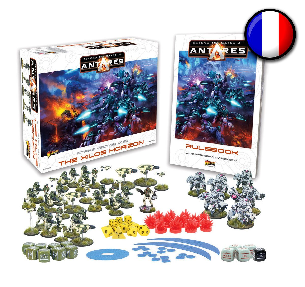 French Beyond the Gates of Antares starter set