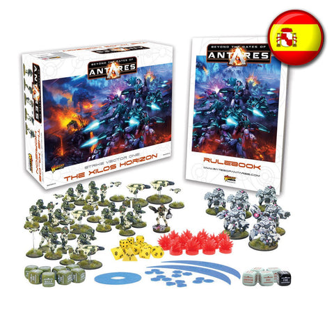 Spanish Beyond the Gates of Antares starter set