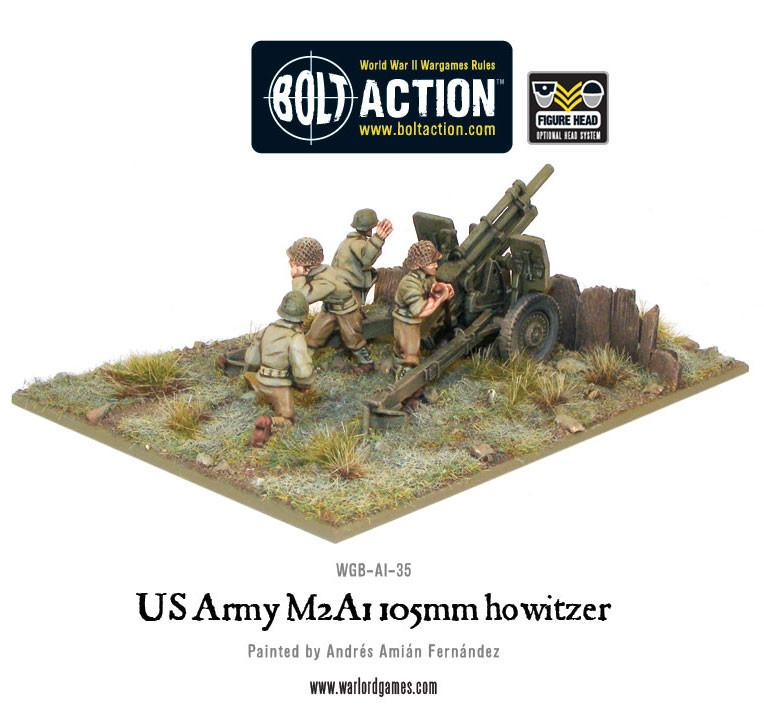 US Army M2A1 105mm howitzer