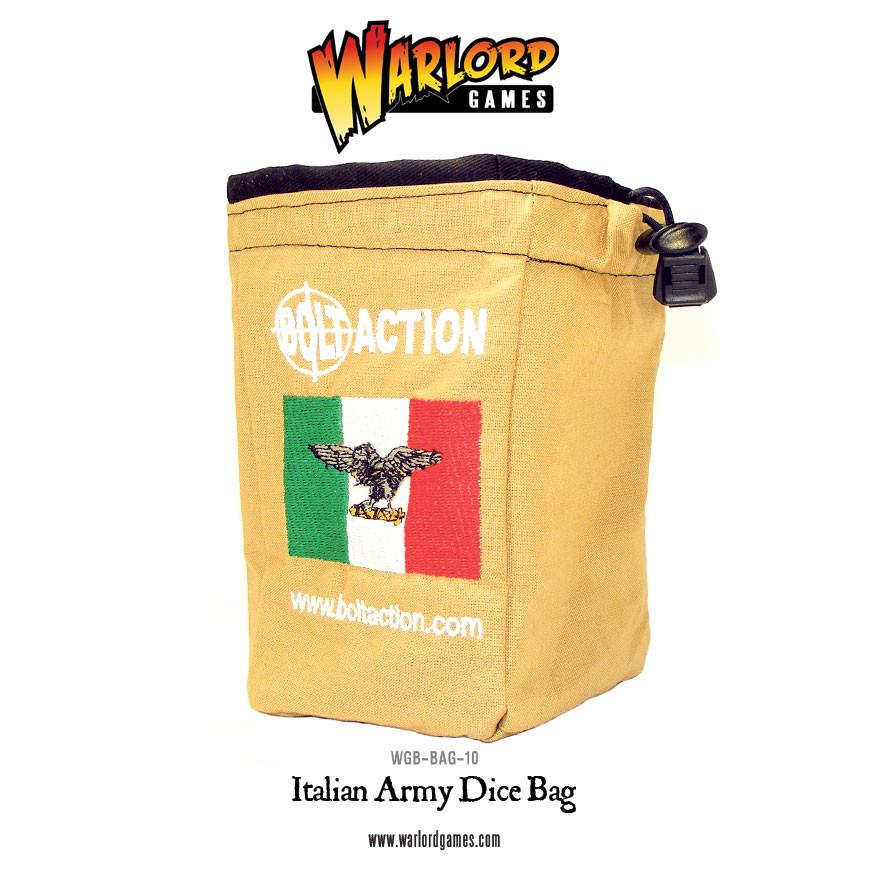 Italian Army Dice Bag & Dice
