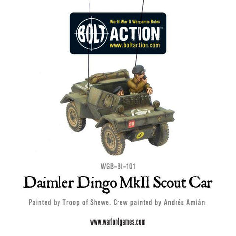 British Daimler Dingo MkII Scout Car