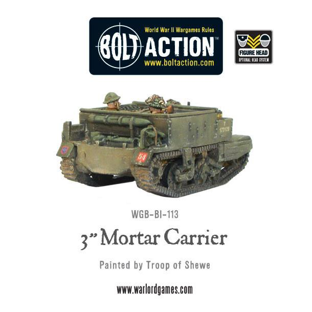 "3"" Mortar Carrier"