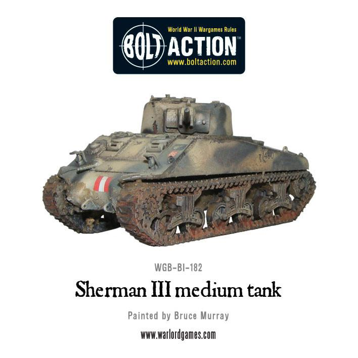 Sherman III medium tank