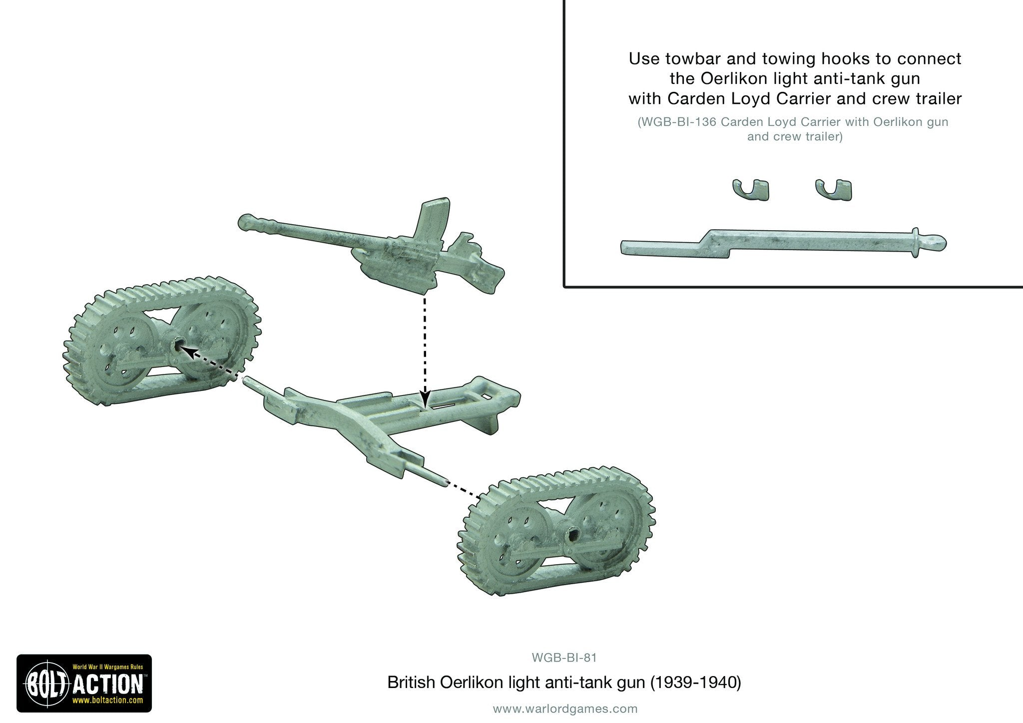 British Oerlikon light anti-tank gun (1939-40)