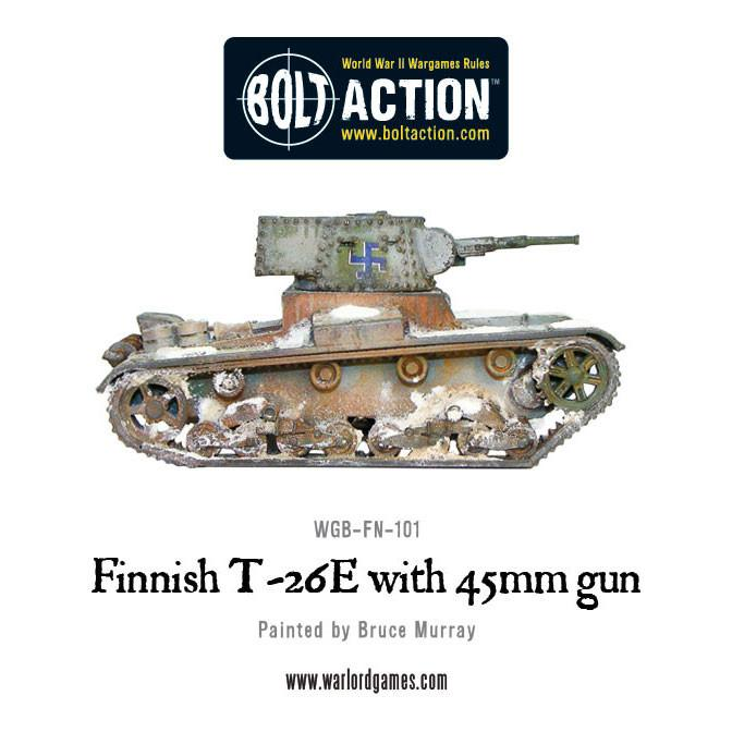 Finnish T-26-E Vickers 6-tonner with 45mm gun