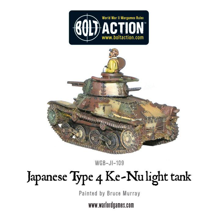 Japanese Type 4 Ke-Nu  light tank