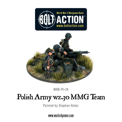 Polish Army wz.30 MMG team