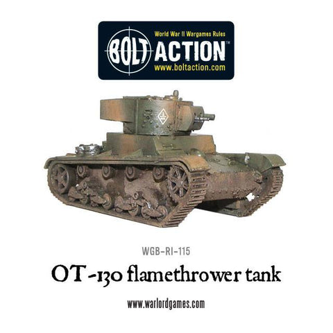 OT-130, flamethrower tank