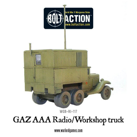 GAZ AAA Radio/Workshop truck