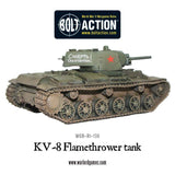 KV-8 flamethrower tank