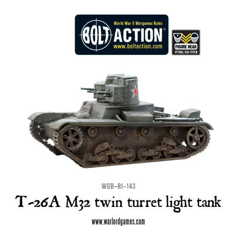 T-26A M32 twin turret light tank