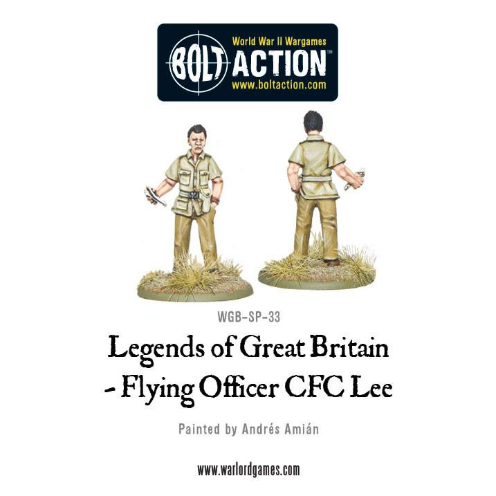 Legends of Great Britain - Flying Officer CFC Lee