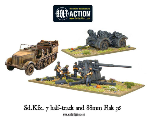 Sd.Kfz 7 and 88mm Flak gun special offer