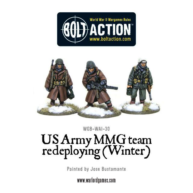 US Army MMG team (Winter) - Redeploying