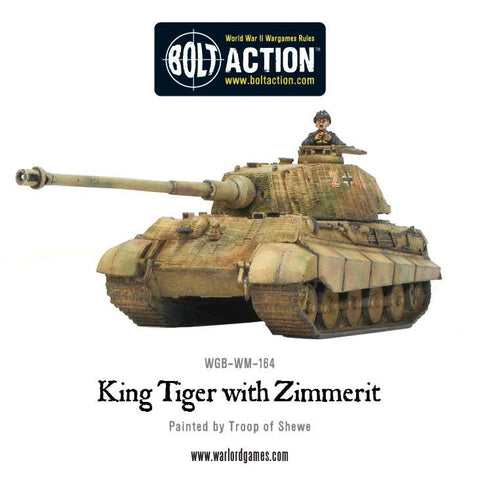 King Tiger with zimmerit