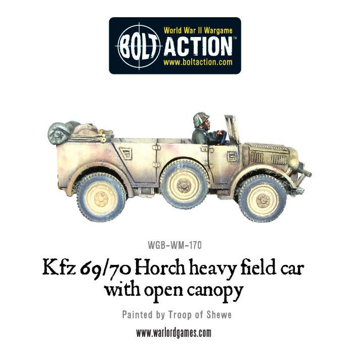 Open-topped Kfz 69/70 Horch 1a