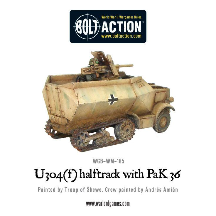 U304(f) halftrack with PaK 36