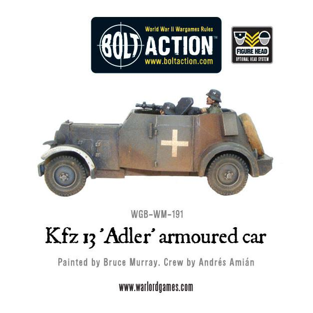 Kfz 13 'Adler' German armoured car