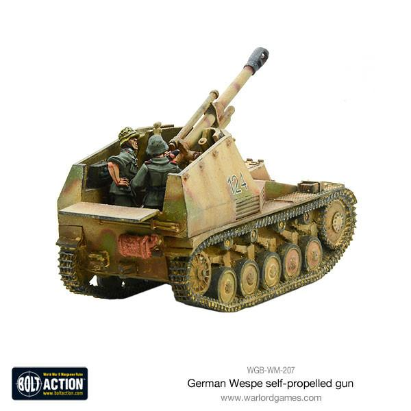 Wespe self-propelled gun