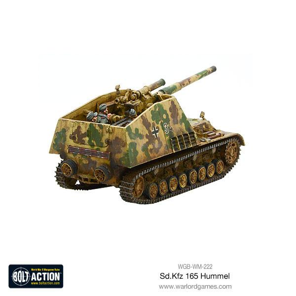 Sd.Kfz 165 Hummel self-propelled gun