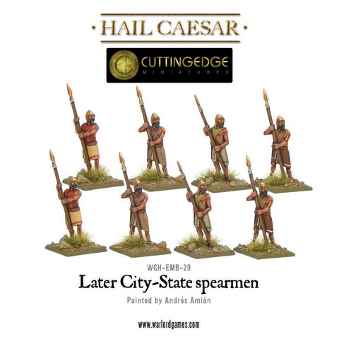 Later City-State spearmen