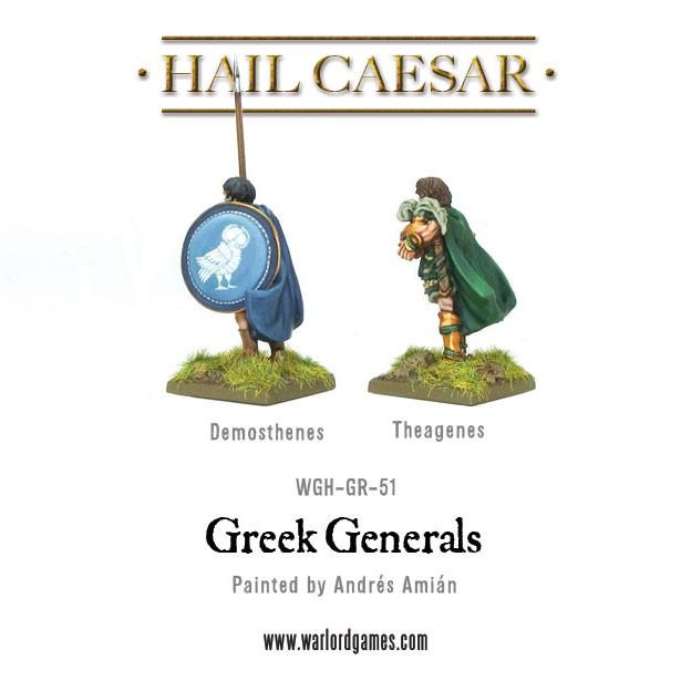 Greek Generals (Demosthenes & Theagenes)