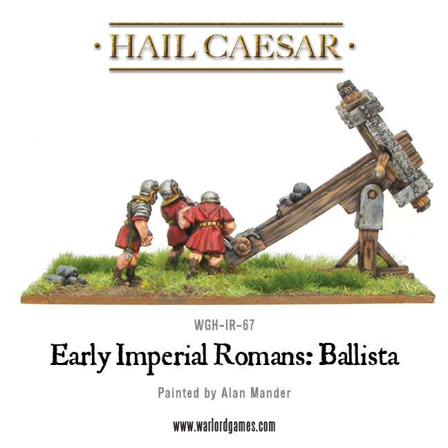 Early Imperial Romans: Ballista