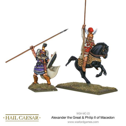 Alexander the Great & Philip II of Macedon