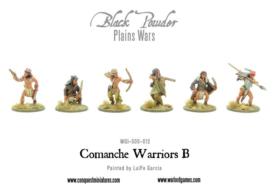 Comanche Warriors B
