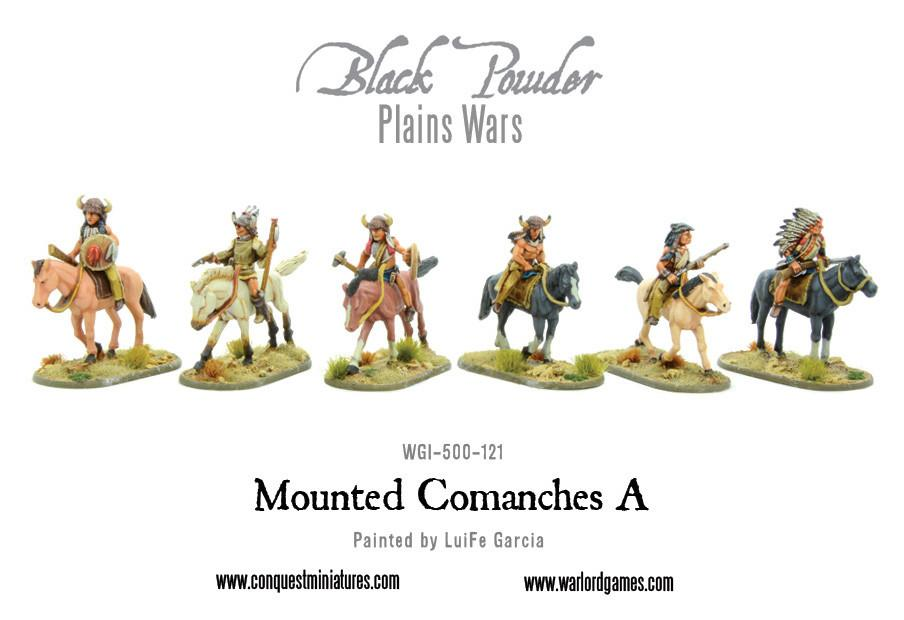 Mounted Comanches A