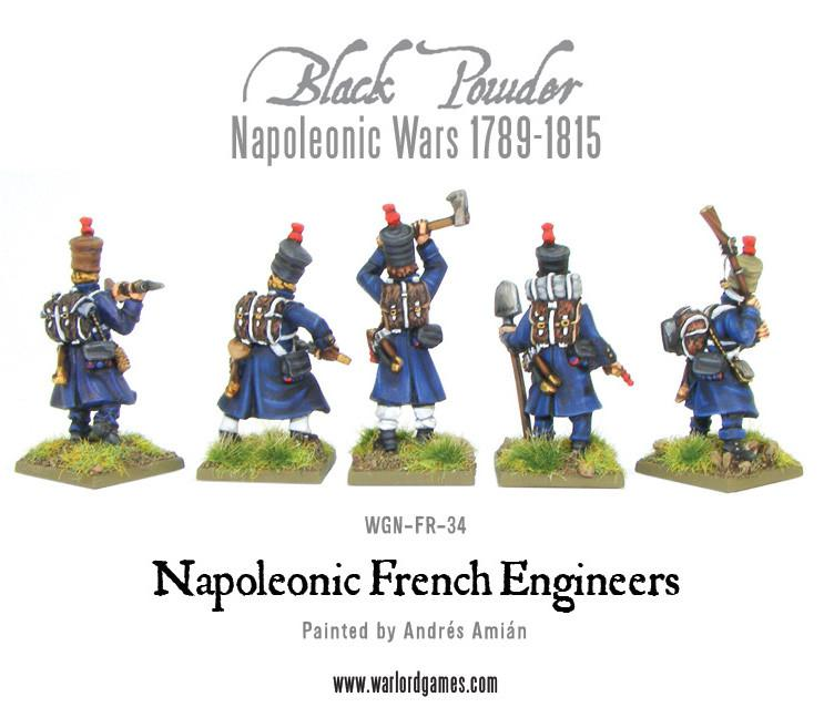 Napoleonic French Engineers