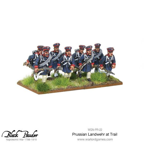 Napoleonic Wars: Prussian Landwehr at Trail 1789-1815