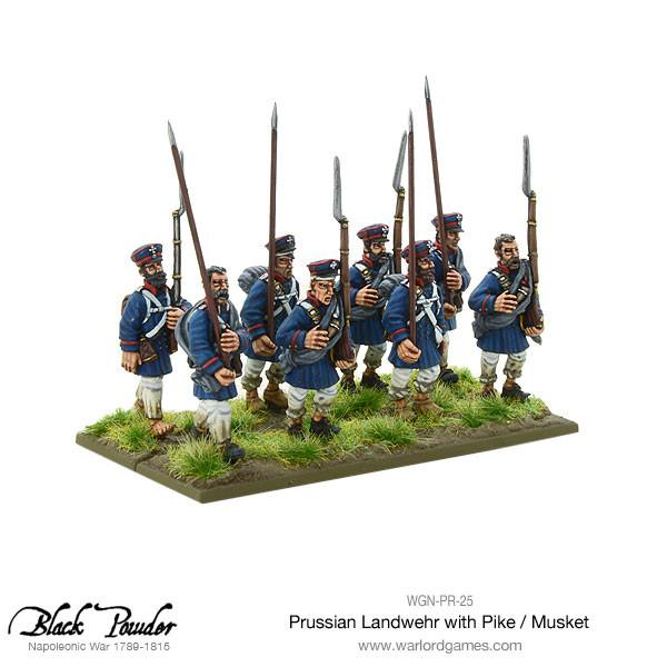 Napoleonic Wars: Prussian Landwehr with Pike / Musket 1789-1815