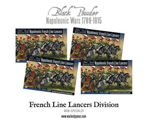 Napoleonic French Line Lancers Division