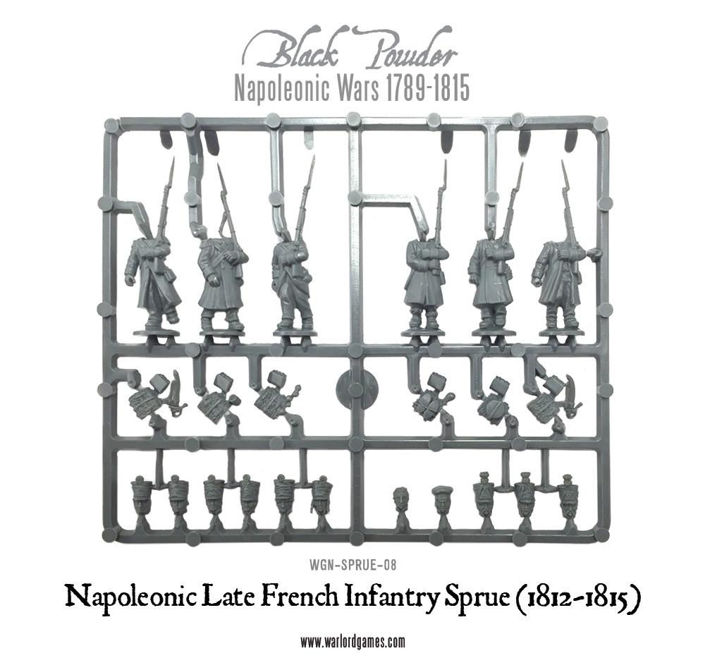 Napoleonic Late War French sprue