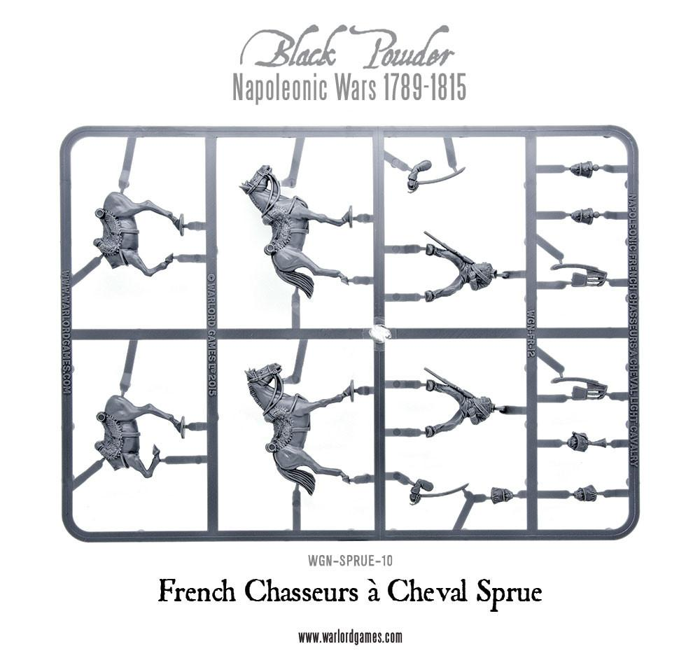 French Chasseurs Sprue