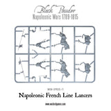 French Line Lancers Sprue