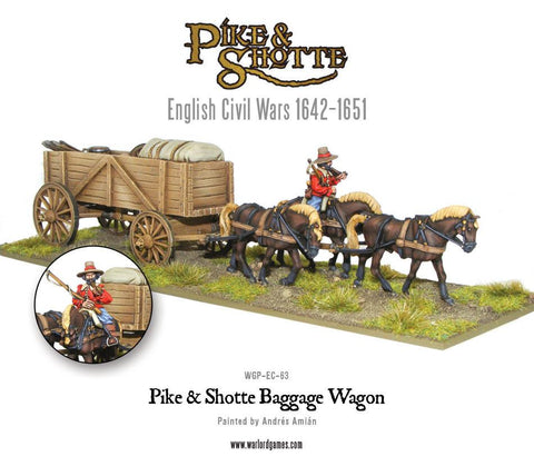 Pike & Shotte Baggage Wagon