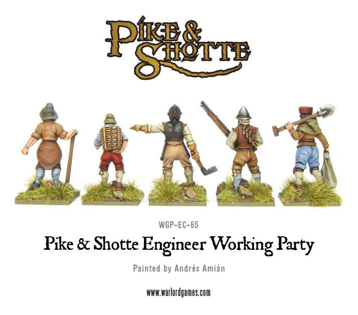 Pike & Shotte Engineer Working Party