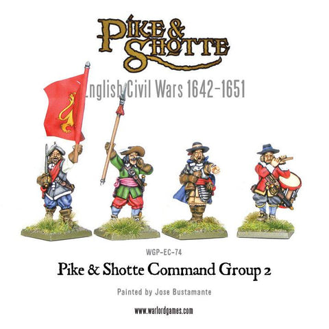 Pike & Shotte command group 2