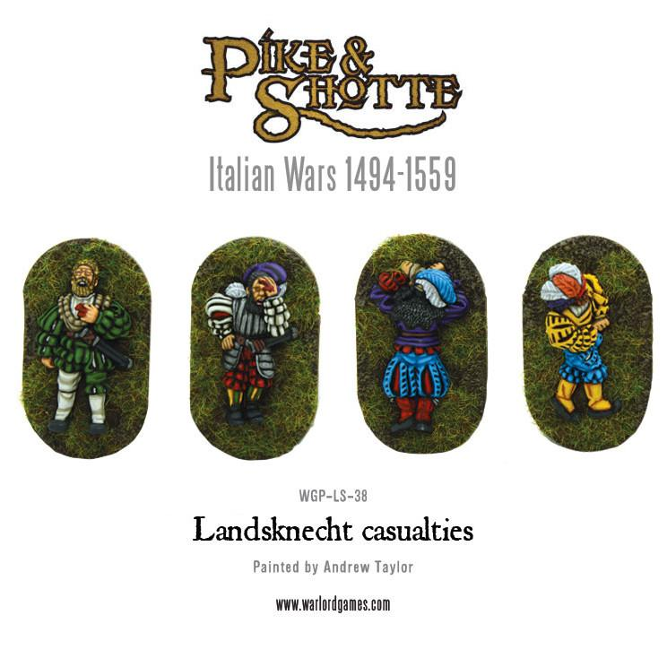 Landsknecht casualties