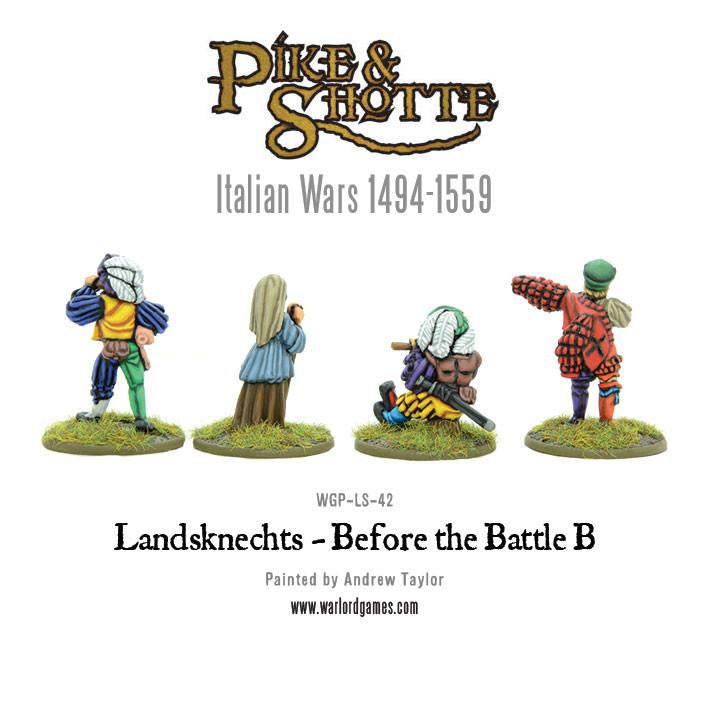 Landsknechts - before the battle B