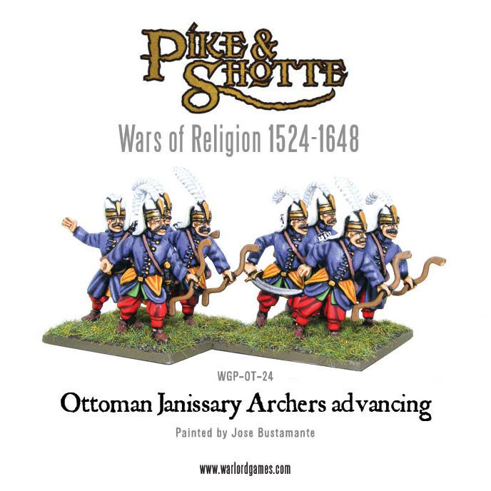 Ottoman Janissary Archers advancing