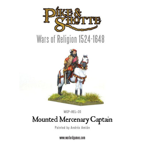Mounted Mercenary Captain (Wars of Religion)