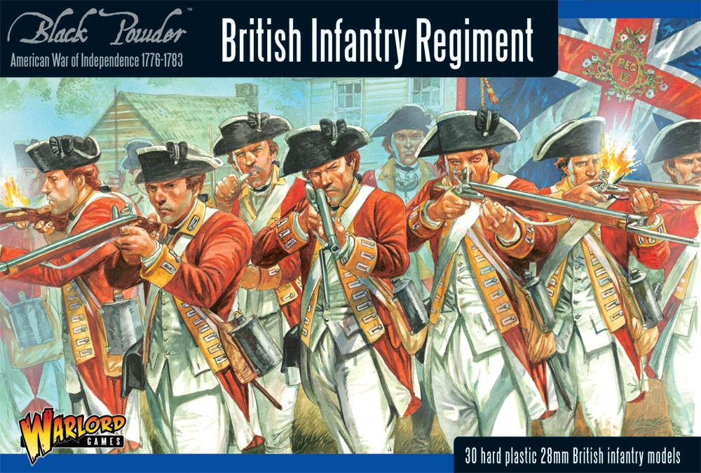 American War of Independence: British Infantry Regiment