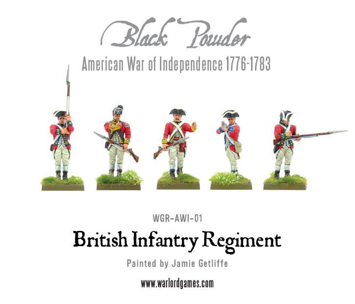 American War of Independence: British Infantry Brigade