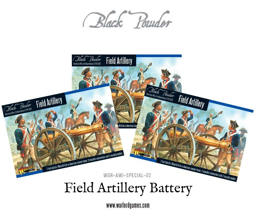 Field Artillery Battery and Army Commanders (Plastic Box x 3)