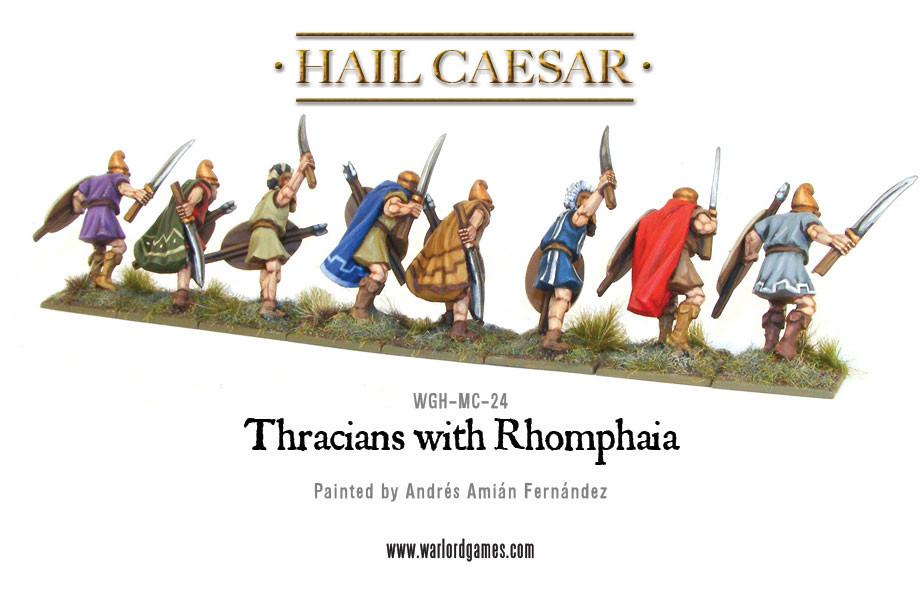 Thracians with Rhomphaia